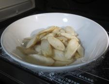 牛肉とごぼうの煮物 調理①