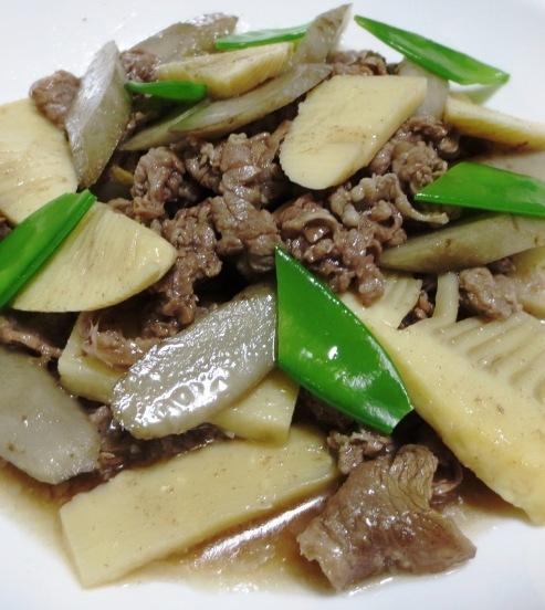 牛肉とごぼうの煮物 B大