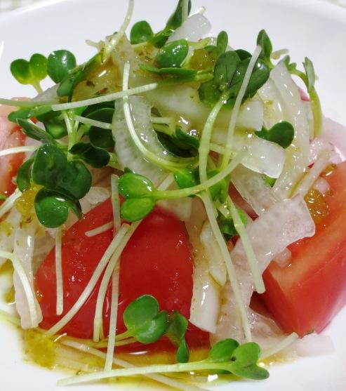 トマト&オニオンサラダ B