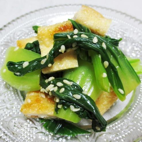 小松菜とお揚げ B