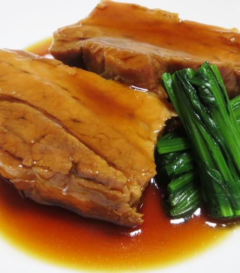 東坡肉(トンポーロー 豚の角煮) 拡大