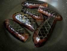 ナスの煮物 調理①