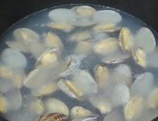 あさりと高野豆腐のスープ煮 調理③