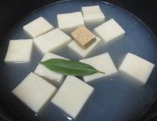 あさりと高野豆腐のスープ煮 調理④