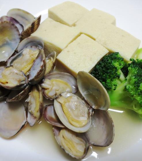 あさりと高野豆腐のスープ煮 B
