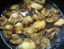 鶏皮 調理②