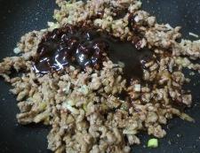 肉味噌冷し坦々麺 調理③