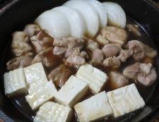 かしわのすき焼き 調理③