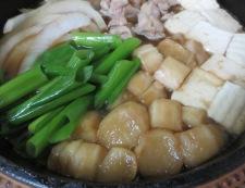 かしわのすき焼き 調理⑤