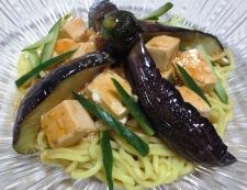 麻婆豆腐の冷やし中華 調理⑥