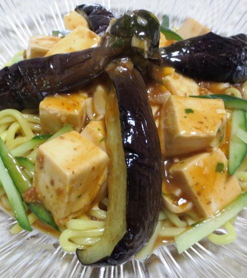 麻婆豆腐の冷やし中華 B