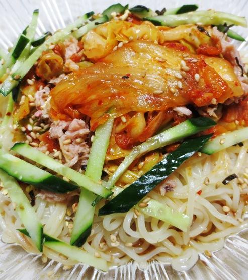 ツナキムチ炒め冷麺 B