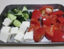 チーズとグレープフルーツのおつまみサラダ 調理③