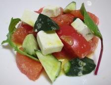 チーズとグレープフルーツのおつまみサラダ 調理④