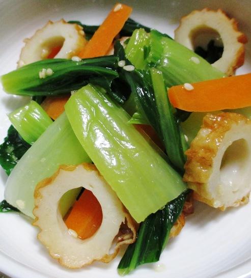 青梗菜のナムル B
