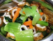 青梗菜のナムル 調理②