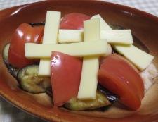 ナスとトマトのチーズ焼き 調理⑤