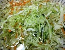 わさびマヨポン酢サラダ 調理②