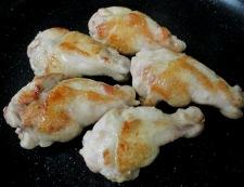 鶏手羽元のタイ風煮込み 調理②