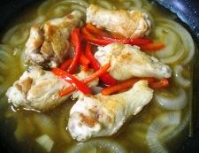 鶏手羽元のタイ風煮込み 調理⑥