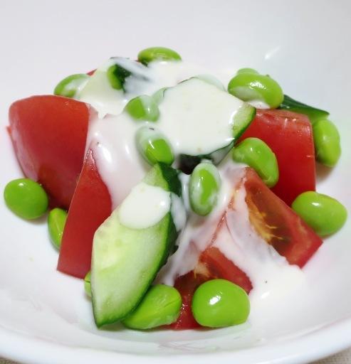 枝豆トマトサラダ 大