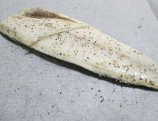 塩サバのペパーレモン焼き 調理②