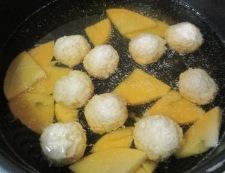 鶏だんごと春雨の和風スープ煮 調理②