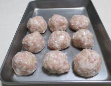 鶏だんごと春雨の和風スープ煮 【下準備】②