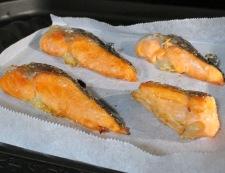 鮭アラ 調理②