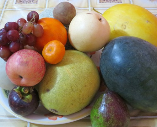 new year 12 fruits 2015