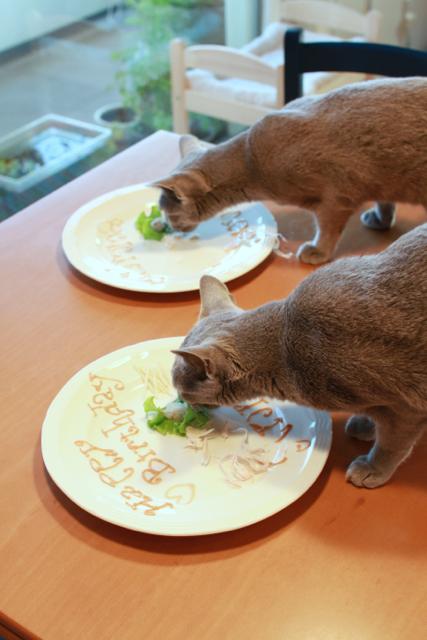 ふたりで食べる
