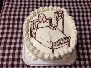 入院ケーキ