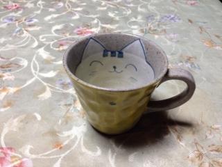 コーヒーカップにゃん