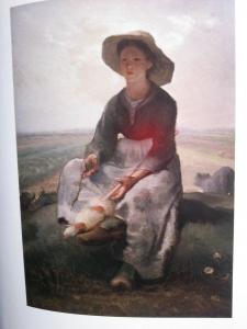 羊飼いの娘 ミレー展