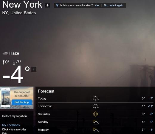 NY weather 2
