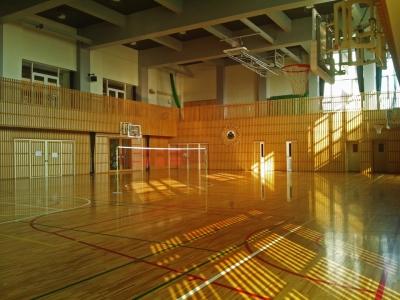 土浦小学校 体育館