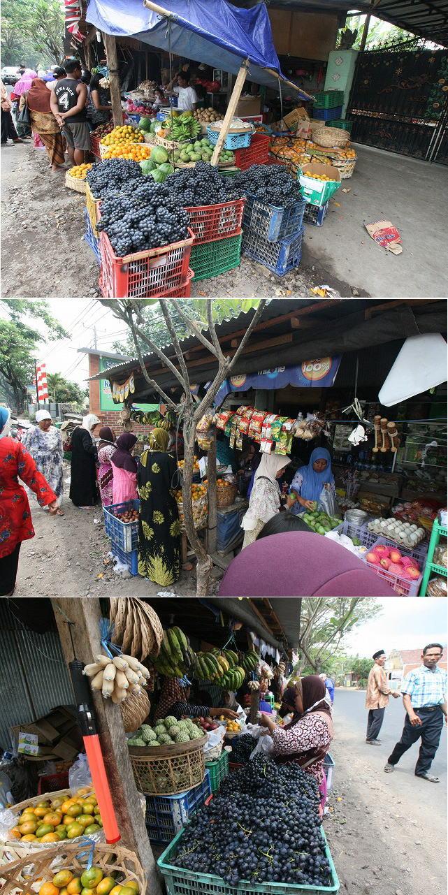 路面の果物売りブログサイズ