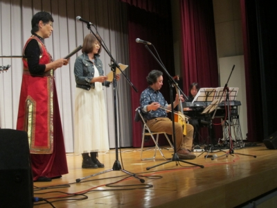 多幸詩さん、NORIKOさん、海老原さんと