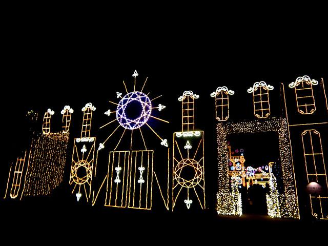さがみ湖イルミリオン2014-15 「光と宮殿の大庭園」(1)