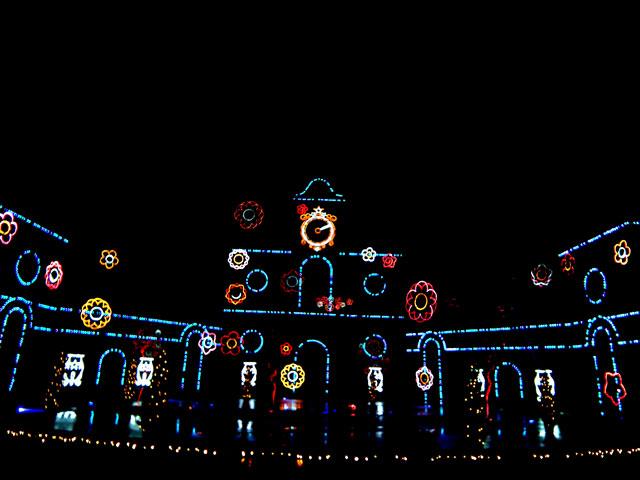 さがみ湖イルミリオン2014-15 「光と宮殿の大庭園」(2)