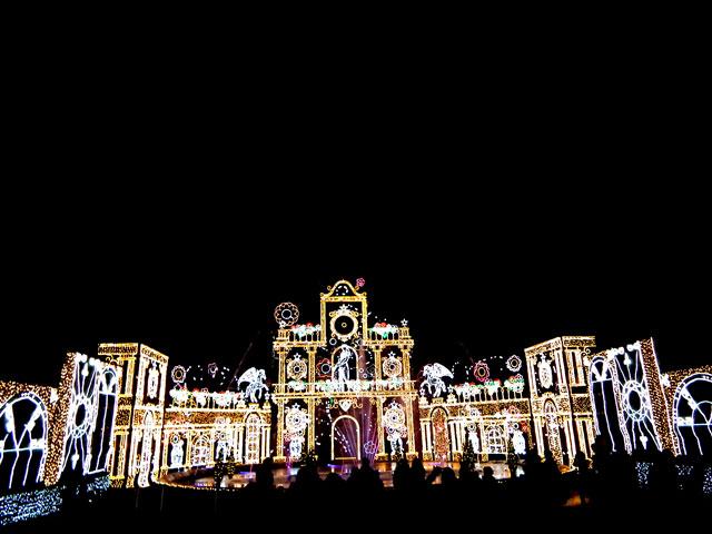 さがみ湖イルミリオン2014-15 「光と宮殿の大庭園」(3)