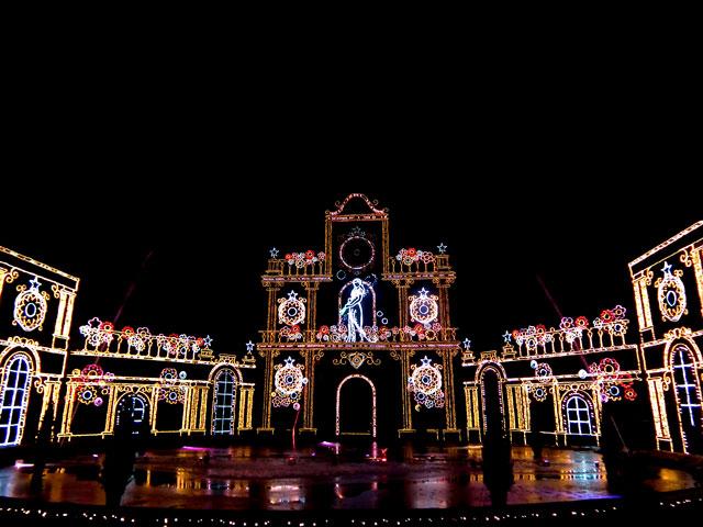 さがみ湖イルミリオン2014-15 「光と宮殿の大庭園」(4)