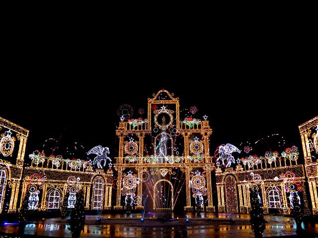 さがみ湖イルミリオン2014-15 「光と宮殿の大庭園」(5)