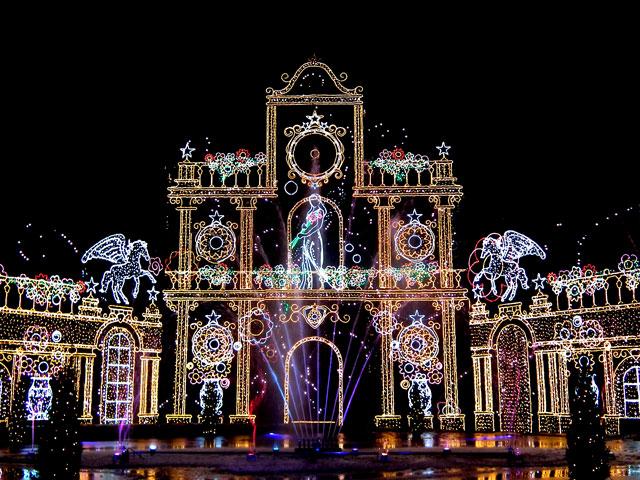 さがみ湖イルミリオン2014-15 「光と宮殿の大庭園」(6)