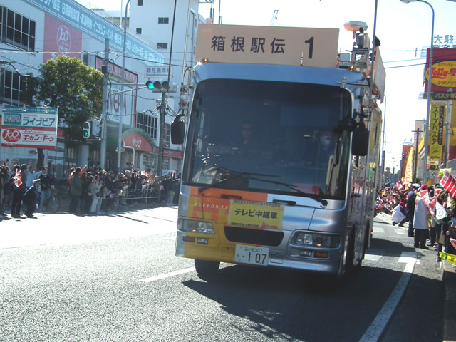 2015年 箱根駅伝・復路(1)