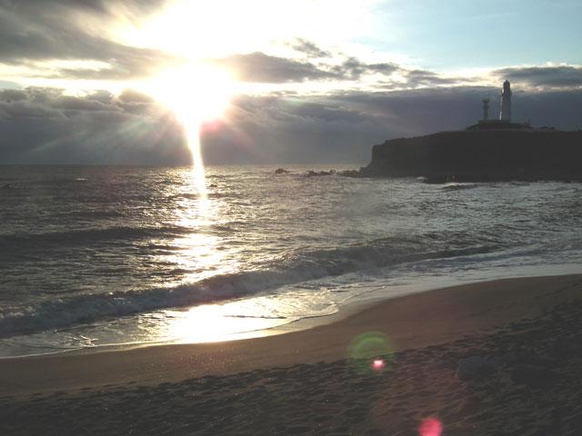 2015年 君ヶ浜での初日の出(3)