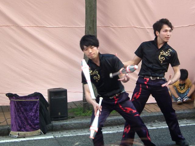 2015野毛大道芸 桔梗ブラザーズ(1)