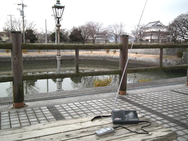 いなBeeを桑名市九華公園で受信