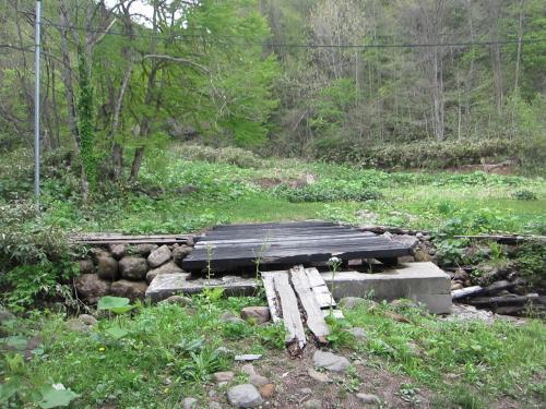 盤石温泉の橋