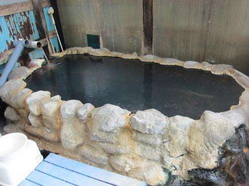 盤石山荘湯船